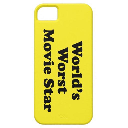 La estrella del cine peor del mundo iPhone 5 carcasa