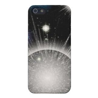 La estrella del espacio estalla las pieles iphone4 iPhone 5 carcasas
