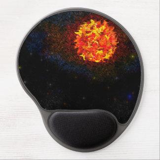 La estrella es cojín de ratón nacido del gel alfombrillas de raton con gel