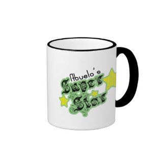 La estrella estupenda de Abuelo Taza De Café