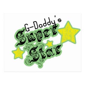La estrella estupenda de los G-Papás Tarjeta Postal