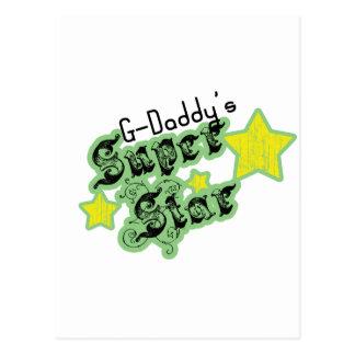 La estrella estupenda de los G-Papás Tarjetas Postales