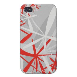 La estrella florece la caja del iPhone 4 iPhone 4 Carcasas