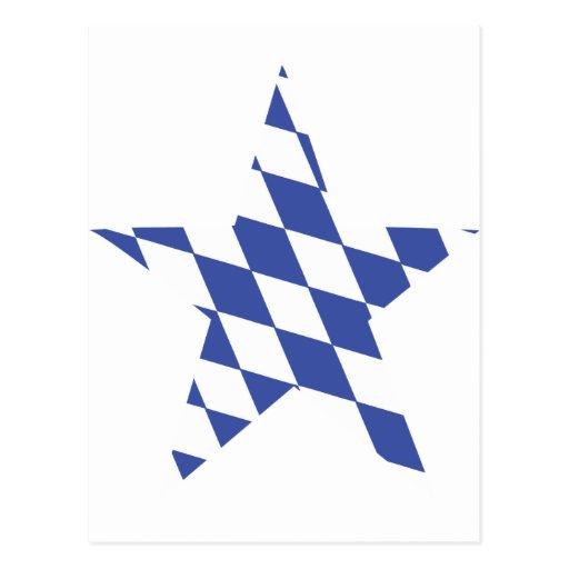 la estrella más oktoberfest de Baviera Postal