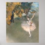 La estrella, o bailarín en la etapa, c.1876-77 impresiones