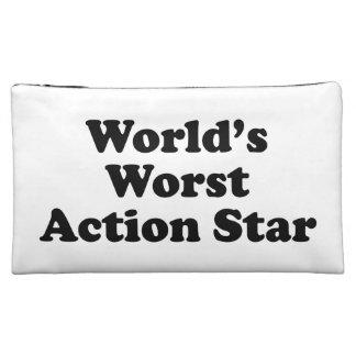 La estrella peor de la acción del mundo