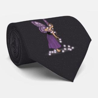 La estrella que brilla intensamente florece al corbata personalizada