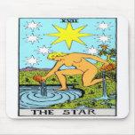La estrella tapete de ratón