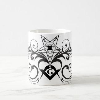 La estrella y el cuadrado tazas de café