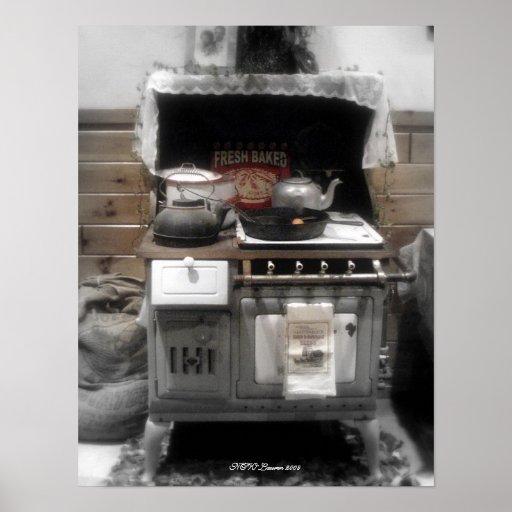 La estufa vieja de Maddie Póster