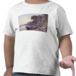 La etapa de aterrizaje camisetas