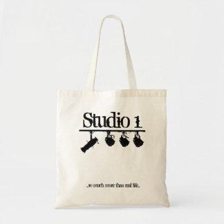 La etapa del estudio 1 enciende el tote bolsa tela barata