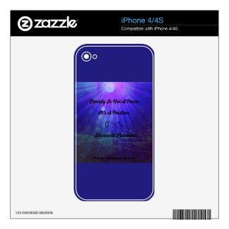La eternidad no es un lugar de Diamante Lavendar iPhone 4S Skins