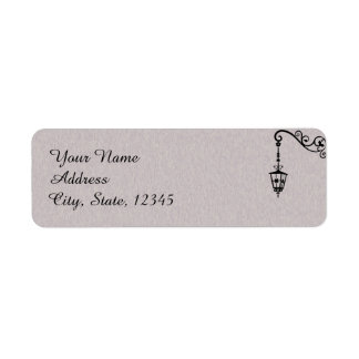 La etiqueta fácil grande del boda etiquetas de remite