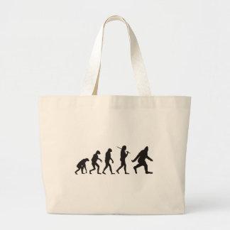 La evolución de Bigfoot Bolsa Tela Grande