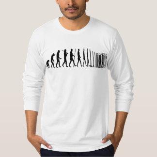 La evolución de Commodification del hombre Camisas