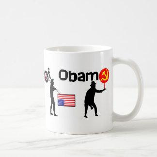 La evolución de Obama Taza De Café