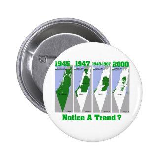 La evolución de Palestina Pin
