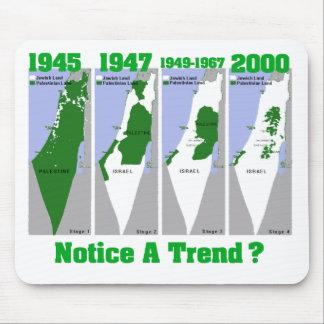 La evolución de Palestina Alfombrillas De Ratones