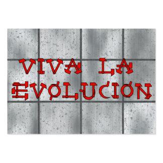 La Evolucion de Viva Tarjetas De Visita Grandes