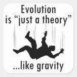 La evolución es apenas pegatinas de una teoría