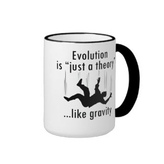 """La evolución es """"apenas taza de una teoría"""""""