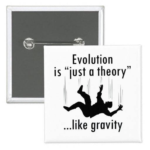La evolución es apenas un botón de la teoría pins