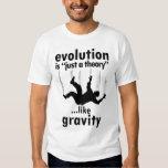 La evolución es apenas una camisa de los hombres