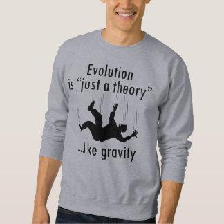 La evolución es apenas una camiseta de la teoría sudaderas encapuchadas