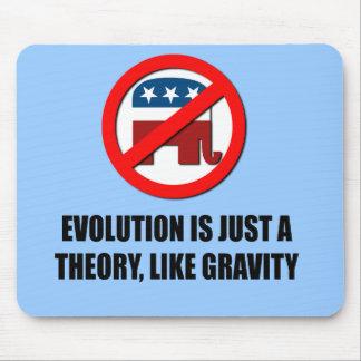 La evolución es apenas una teoría como gravedad mousepad