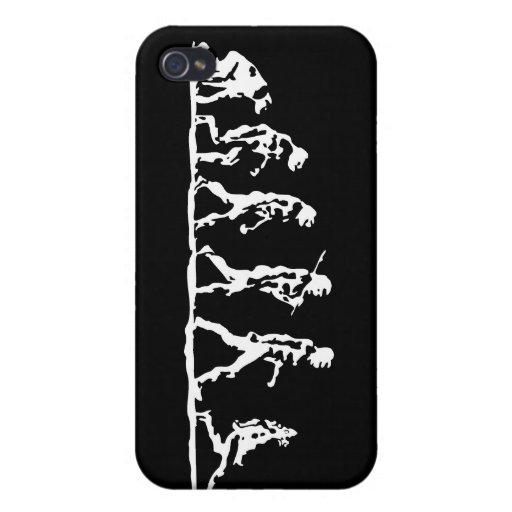 La evolución es natural iPhone 4/4S carcasas