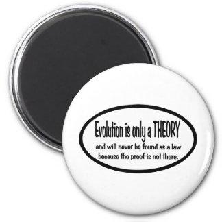 La evolución es solamente una teoría iman