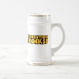 La evolución oscila el stein taza de café