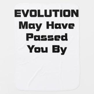 La evolución pudo haber pasadole cerca manta de bebé