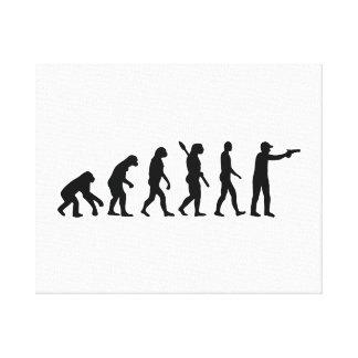 La evolución se divierte el tiroteo