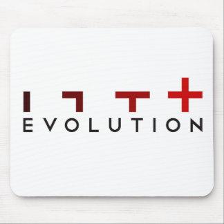 ¡La evolución sucede cojín de ratón! Alfombrillas De Ratón
