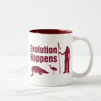 La evolución sucede - los productos de la Florida Tazas De Café