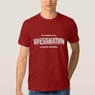 La existencia de mi camisa de AWESOMATION