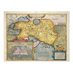 La expedición de Alexander el grande Tarjeta Postal