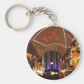 La experiencia de la calle de Fremont - Las Vegas Llavero Redondo Tipo Pin