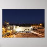 La Explanada de las Mezquitas en Jerusalén, Israel Posters