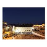 La Explanada de las Mezquitas en Jerusalén, Israel Postales
