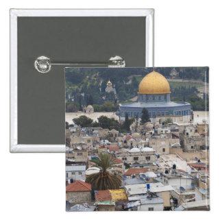 La Explanada de las Mezquitas y bóveda de la roca Pin