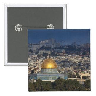 La Explanada de las Mezquitas y bóveda de la roca, Pin