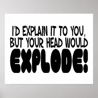 La explicación haría que la cabeza estalla impresiones