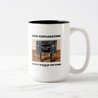 La exploración de Marte no es un paseo en el parqu Taza De Café