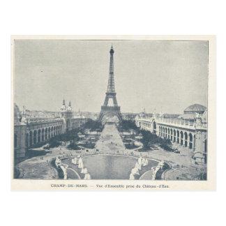 La expo 1900, campeones de París estropea, viaje Postales