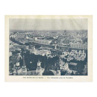 La expo 1900, Les de París Rives el la el Sena del Tarjeta Postal