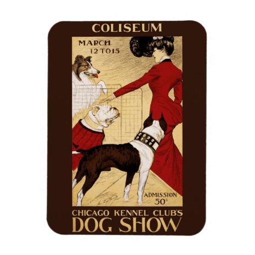 La exposición canina 1902 del club de la perrera d iman