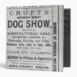 La exposición canina de Cruft de la publicidad de